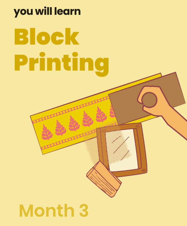 Art and Design Course Month 3: Block Printing