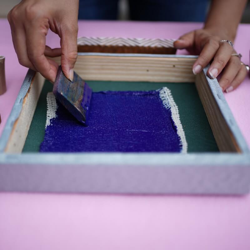 Block Printing Trays