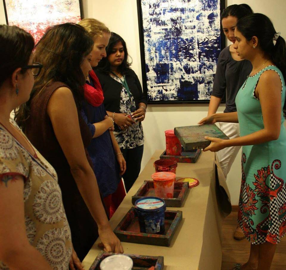 About Amoha Prints | Block printing workshops in Bangalore | Block printing in Bangalore